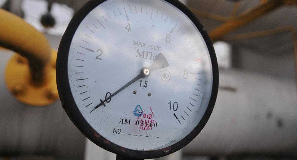 Газовый манометр. Архивное фото