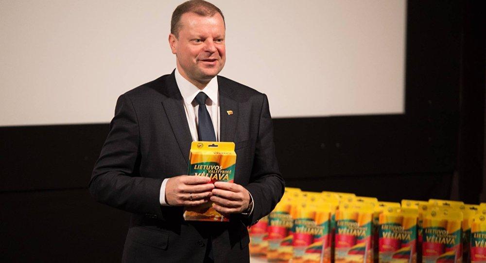 Премьер-министр Литвы Саулюс Сквернялис, архивное фото