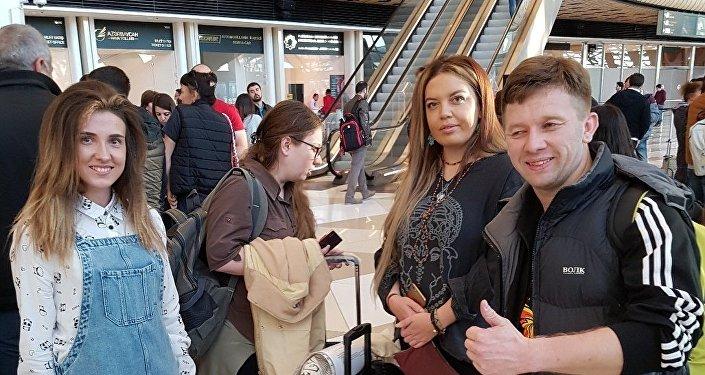 Азербайджанская делегация отправилась в Сочи на ВФМС-2017