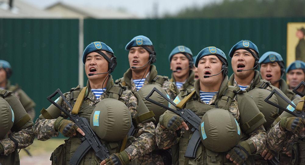 Совместное учение с Коллективными миротворческими силами ОДКБ Нерушимое братство-2016. Архивное фото