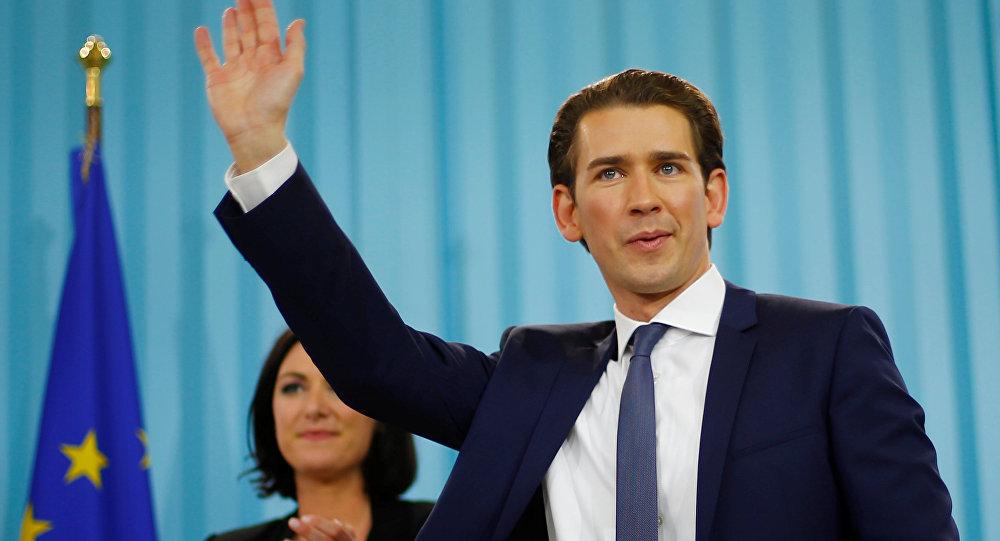 Министр иностранных дел Австрии и глава АНП Себастьян Курц